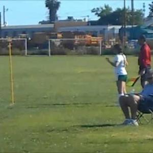 Tiffany Torres Uses Her Head To Score Crucial Goal!