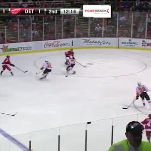Steve Mason Save on Gustav Nyquist (07:45/2nd)