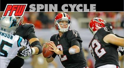 NFC South Spin cycle: Falcons cross one hurdle