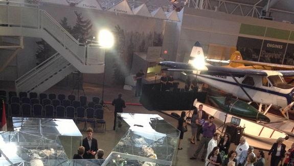 Space Shuttle's Robotic Arm Goes on Display at Canadian Museum