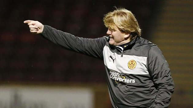 Motherwell boss Stuart McCall (PA Photos)