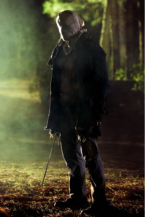 Derek Mears Friday the 13th Production Stills New Line 2009