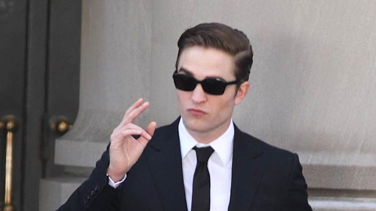 Robert Pattinson Cosmopolis Set