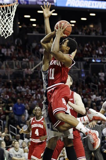 Zeller scores 17, No. 1 Indiana wins 82-72 in OT