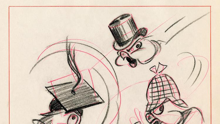 Dumbo Walt Disney Pictures 1941 Concept Art