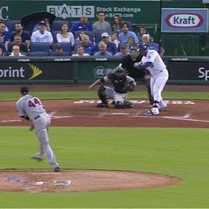 Gibson's clutch strikeout