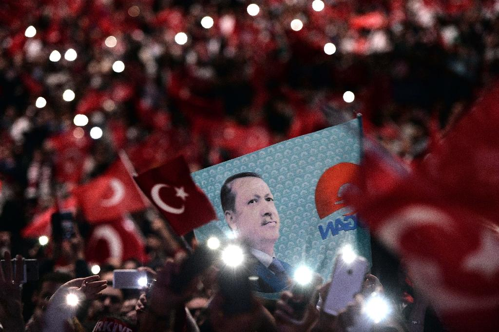 Erdogan's 'anti-terrorism' rally in France draws thousands