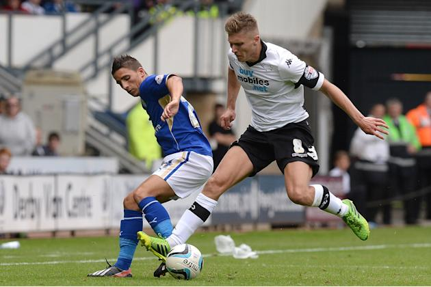 Soccer - Sky Bet Football League Championship - Derby County v Leicester City - Pride Park