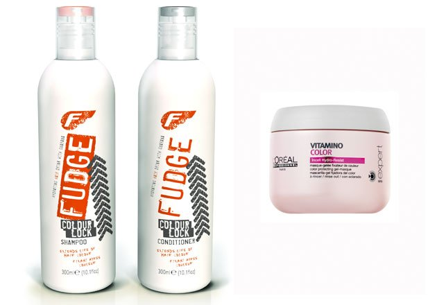 We love these products for coloured hair