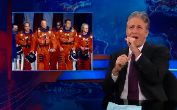 Jon Stewart and the Fiscal-Cliff Asteroid