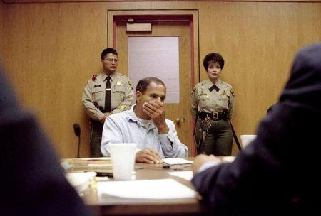 SIRHAN LISTENS DURING A PAROLE BOARD HEARING IN CALIFORNIA