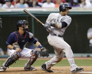 Yankees hit 5 home runs, clobber Indians 14-1