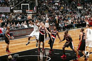 Johnson helps Nets beat Trail Blazers 98-85