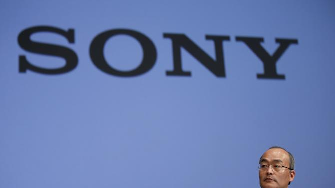 Sony Mobile Communications Inc President and CEO Hiroki Totoki speaks during a news conference to announce Sony's new Xperia Z4 smartphone in Tokyo