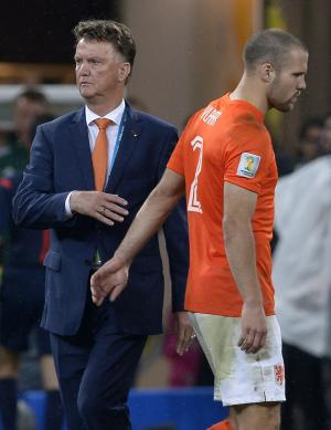 Van Gaal's luck runs out in World Cup semifinals