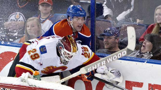 Avs acquire goaltender Reto Berra from Flames