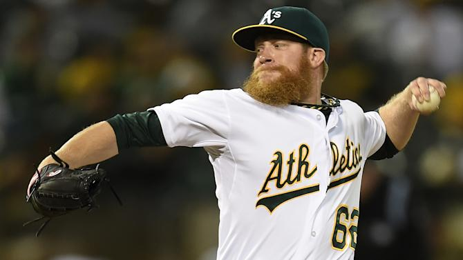 A's closer Doolittle not expected for opener