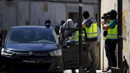 Spain accuses suspect of running Islamic State network in Morocco