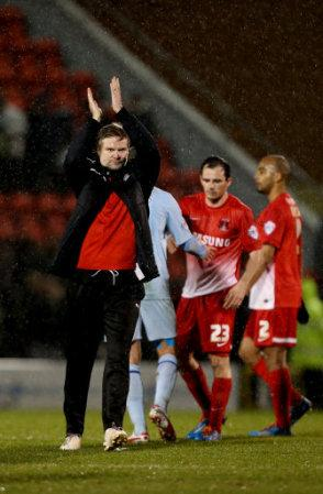 Soccer - Sky Bet League One - Leyton Orient v Coventry City - Brisbane Road