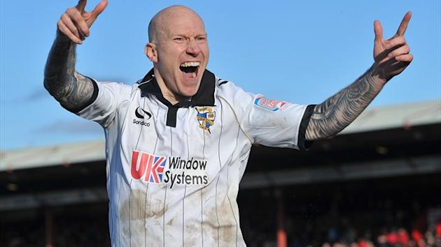 Lee Hughes' treble sunk Burton at Vale Park