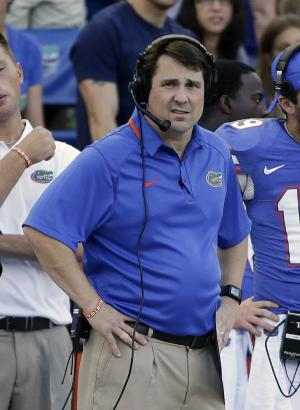 Florida AD Foley backs coach Muschamp again