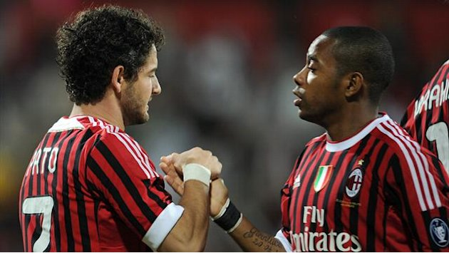 Serie A - Milan hoping to keep Robinho or Pato