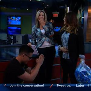 Morning Show Host Accidentally Reveals Co-Hosts Pregnancy Live On-Air