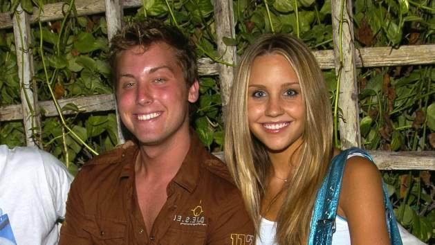Lance Bass and Amanda Bynes 2004 -- Getty Images