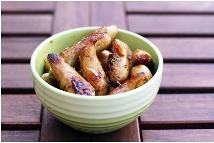 Roasted Garlic Fingerling Potatoes