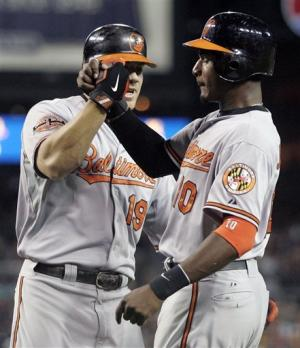 Davis powers Orioles past Tigers 3-2