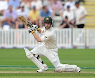 Phil Hughes helped Worcestershire's recovery with an unbeaten 65