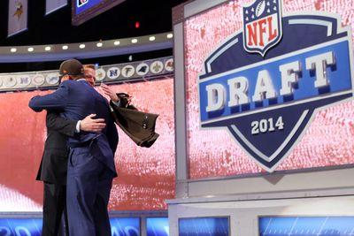 Nobody wants to hug Roger Goodell at the NFL Draft