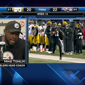 Pittsburgh Steelers head coach Mike Tomlin: I take full responsibility