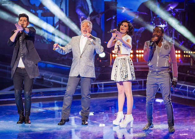 The Voice, coaches, Danny O'Donoghue, Jessie J, Tom Jones, will.i.am