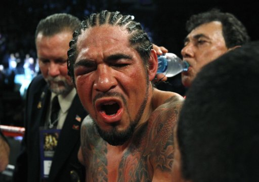 COTTO SCORES A TKO WIN OVER MARGARITO IN THE 10TH