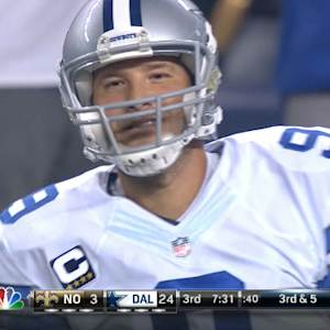 Week 4: Dallas Cowboys QB Tony Romo highlights