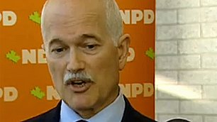 NDP Leader Jack Layton laid out his party's vision for Canada's involvement in Afghanistan on Friday.