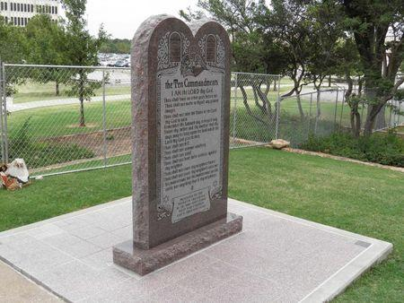 Ten Commandments monument removed from Oklahoma Capital grounds