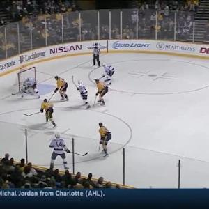 Pekka Rinne Save on Justin Williams (14:25/1st)