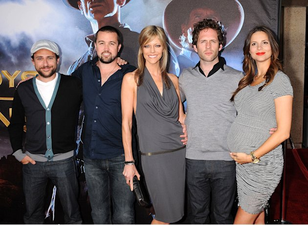 Cowboys and Aliens SD Premiere 2011 Charlie Day Rob McElhenney Kaitlin Olson Glann Howerton Jill Latiano