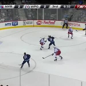 Henrik Lundqvist Save on Jacob Trouba (13:28/3rd)
