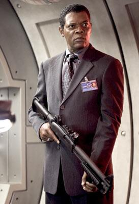 Samuel L. Jackson in Columbia Pictures' XXX: State of the Union