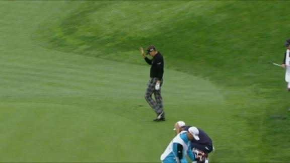 Poulter birdies No. 8  in Round 2 of World Challenge