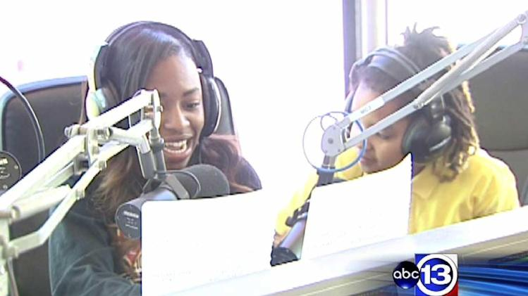 Yates HS students host radio show on KCOH