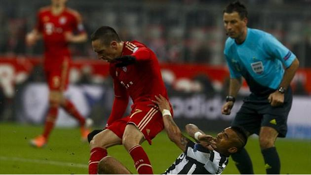 Champions League - Ill-discipline almost mars fine Ribery performance