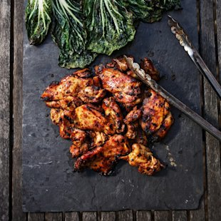 Sweet-and-Spicy Chicken