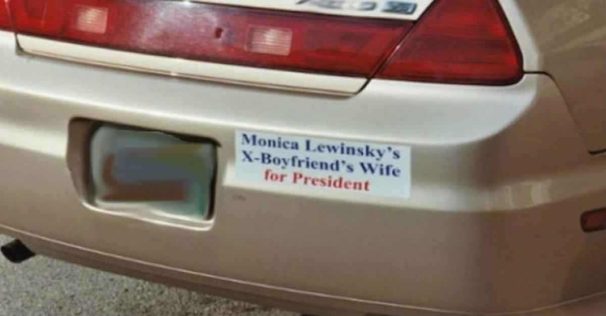 31 Hilarious Bumper Stickers