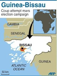 Guinea-Bissau soldiers were in control of the capital of the coup-prone nation Friday and holding both the prime minister and interim president, as the world condemned their power grab