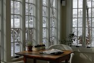 Make your enclosed porch cozy for winter