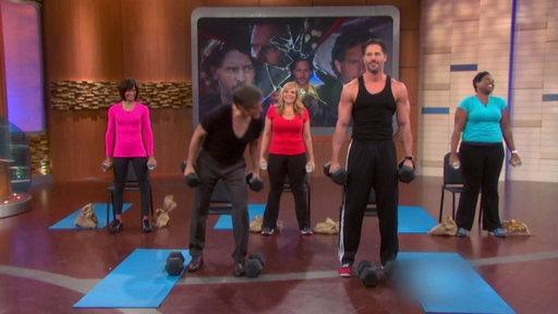 Condensed Soup: Joe Manganiello Is Real Buff